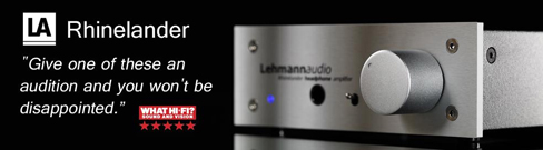 SV House Amply Lehmann Audio Rhinelander