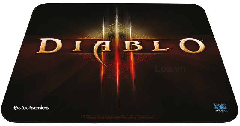 Bàn di chuột Surface SteelSeries Qck Diablo III Monk Edition