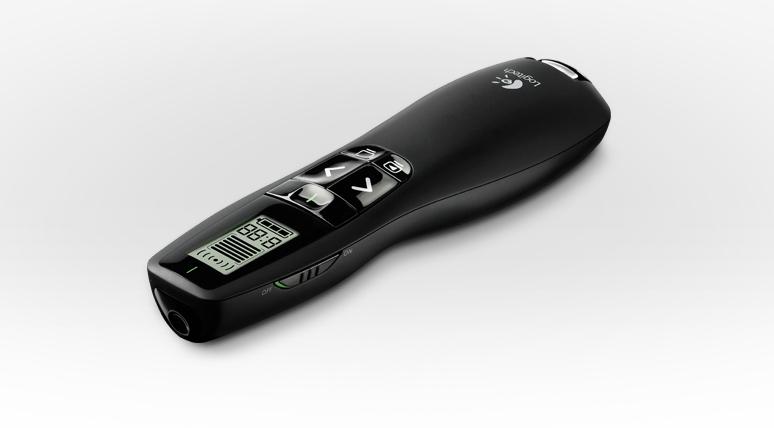 bút trình chiếu chỉ màn hình led, bút chỉ từ xa rõ nét đèn laser màu xanh r800